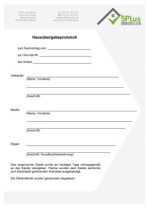 Hausuebergabeprotokoll